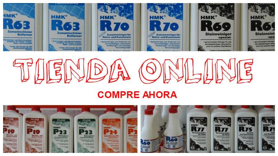 tienda online para comprar limpiadores y protectores para piedras