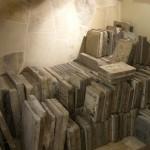 Bodega de piedras litográficas