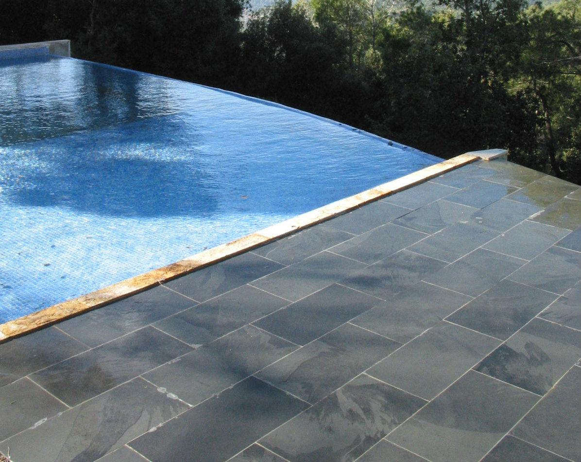 Pavimentos para piscinas exteriores good gua prctica de - Suelos piscinas exteriores ...